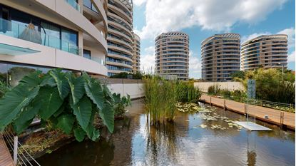 תמונה של בבלעדיות דירת גן (דופלקס) בפריוקט בלו תל אביב